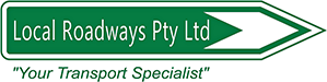 The Local Roadways Pty Ltd logo.